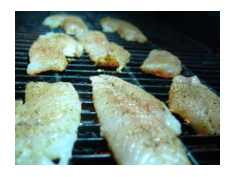 Grouper on Grill