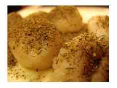 Rubbed Scallops