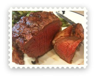 Perfectly Grilled Filet Mignon
