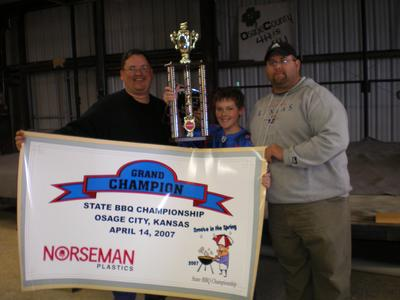 2007 Smoke In The Spring Grand Champions